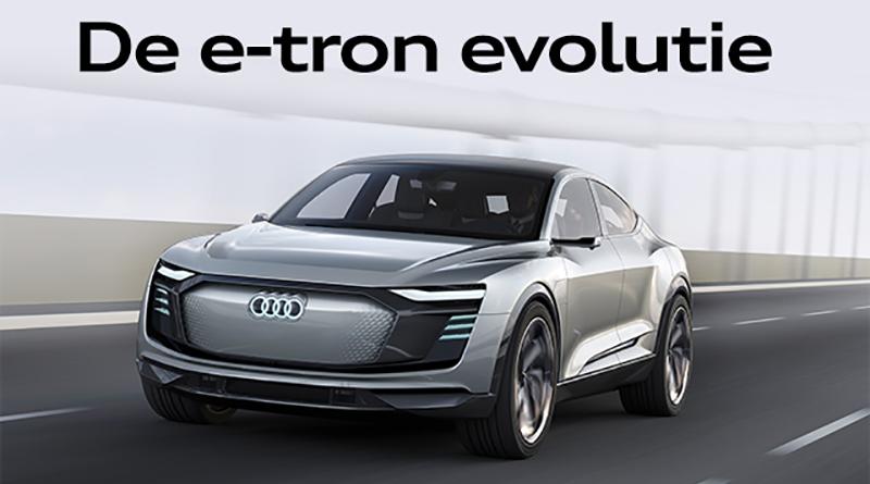 Audi e-tron Sportback concept in productie 2019